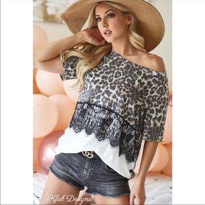 Price🔻StunningNew🌟SoftKnit Leopard&Scallop…